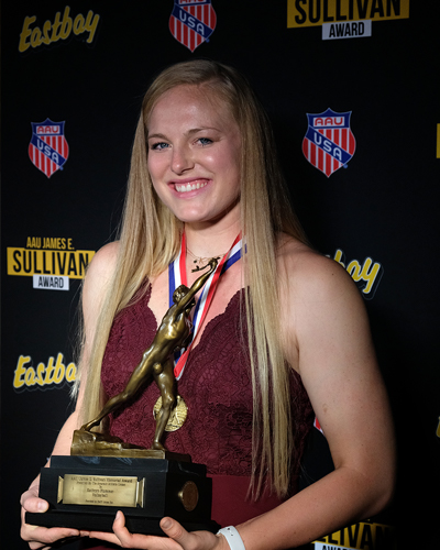 Kathryn Plummer, 89th Annual AAU Sullivan Award Winner