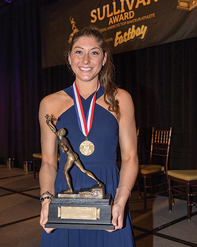Lauren Carlini, 87th Annual AAU Sullivan Award Winner